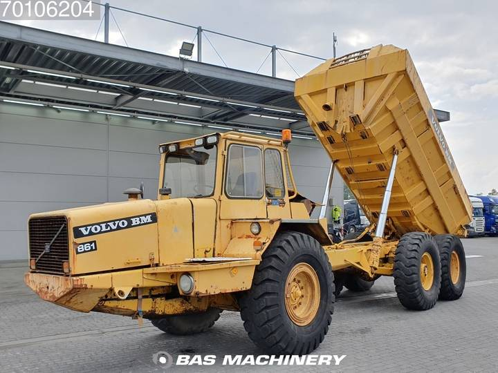 Volvo BM861 Nice truck - operating condition - 1984