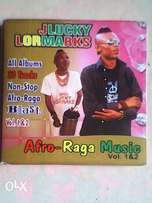 JLucky Lormarks 33 Songs Non Stop Afro-Ragga Music Music Volume