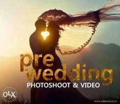 Drone wedding graphics and photography