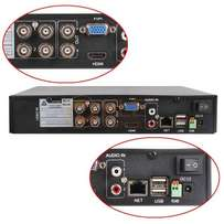 4 Channel DVR - 960H, H.264 Video Compression, HDMI Support