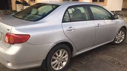 In Owerri;used 2010 Toyota corolla LE(thumbstart) for 2.3M