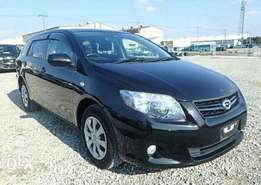 New Toyota fielder fully loaded QUICK SALE 995k
