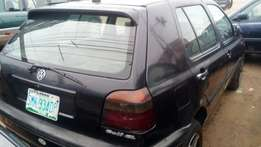 Very very sound and sharp Golf 3 saloon with 1.8 engine