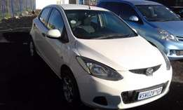 Mazda 2 1.4 Model 2008 5 Door Colour White Factory AC & MP3 Player