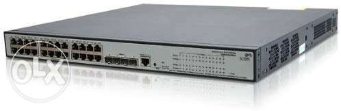 HP Network switch 24 ports POE