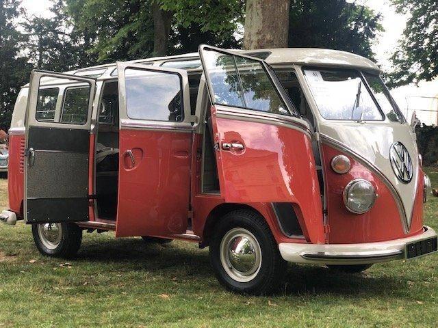 Andere T1 Samba 21 Fenster Bus, Matching Numbers T1 Samba 21 - 1965