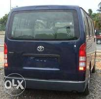 Tokunbo Toyota Hiace Bus Very Neat