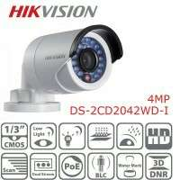 Ip cameras 4mp hikvision bullet and dome