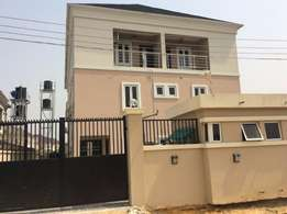Well Finished 5 Bedroom Semi Detached Duplex with 1-Room Boy's Quarter