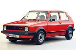 looking for a golf mk1 body/shell