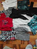 Boy's second hand clothing