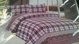 duvets covers which has one bed sheet and two pillow cases