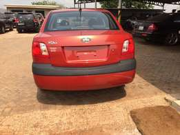 Unregistered Kia Rio