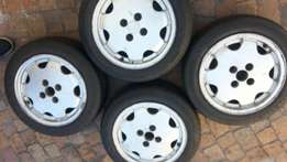 """14"""" cti wheels and tyres"""
