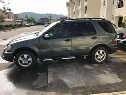 Fairly Used Mercedes SUV ML320
