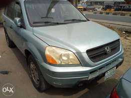 Nigeria used Honda pilot 2004model