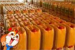 Gallons of groundnut oil for sales