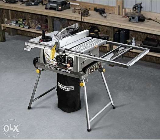 """Rockwell Table Saw RK7241S with Laser 10"""" Disk ,45` Cutting Angle"""