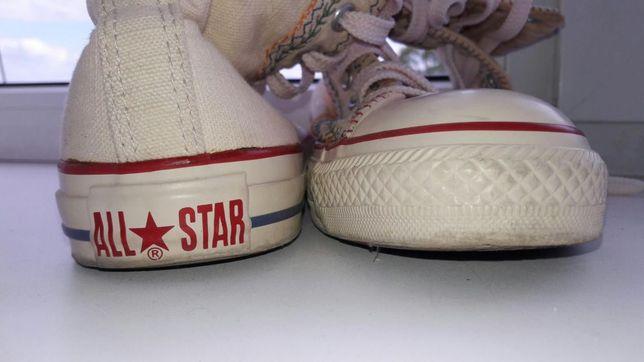 Converse all star высокие кеды конверсы кеди конверси сапоги кроссовки  Богородчаны - изображение 1 a98c0141595a8