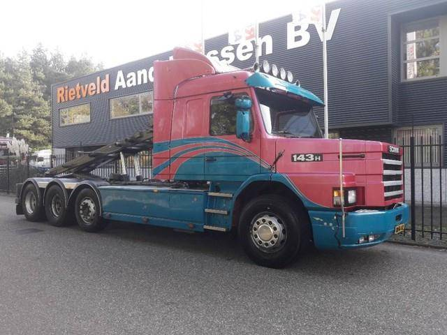 Scania T 143 H 450 pk 8x2 T cab - 1995