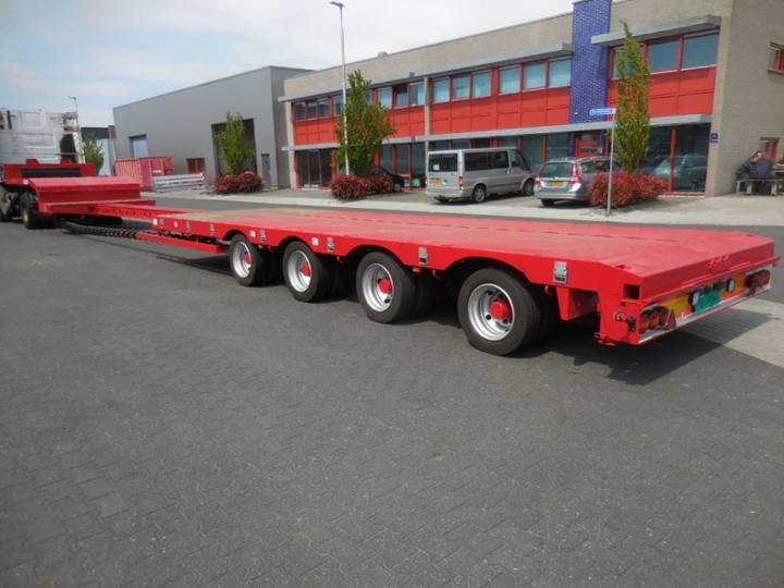 Nooteboom OSD-50-04V, 4-Axle, Extendeble, 80 cm Floor height, 2- - 2004