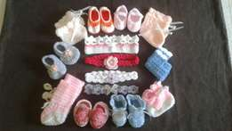 Baby Clothes & Playmat (Crochet & Knitted).