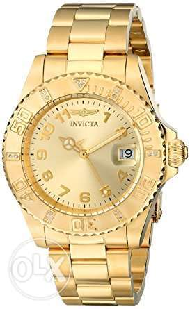 Invicta Women's 15249 Pro Diver 18k Yellow Gold Ion-Plated Stainless S