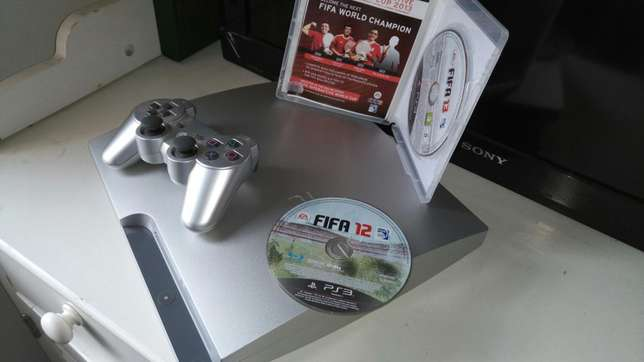 Ps3 300gb internal storage console plus 2 FIFA games Pangani - image 1