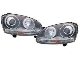 golf 5 headlights
