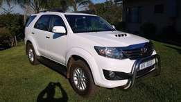 Fortuner 2,5 D 4 D. Perfect condition.