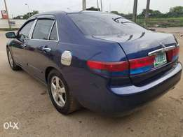 Honda accord 2003 model Buy and drive condition nothing to fix