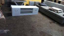 White 42 inch TV stand priced at 331000