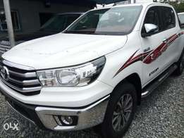 Very clean and neat New Toyota Hilux.