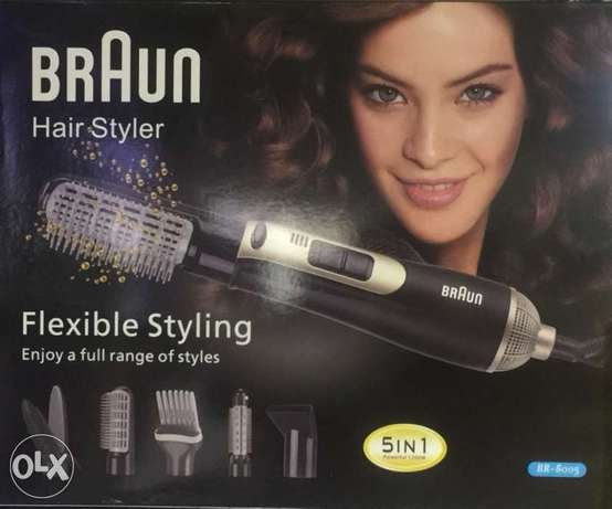 Hair styler five in one from Braun made in Germany