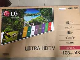 43inch LG UHD TV for cool price