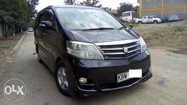 Toyota Alphard, Year 2006, KBW, 2400cc, Sheer Luxury Van Nairobi West - image 2
