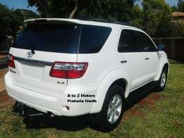 Toyota 3.0 Fortuner D4D 4x4 SUV (2009)