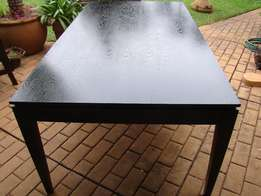 Diningroom table black 1980mm x 1070mm