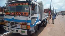 Fuso fighter tipper on sale