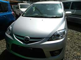 2014 Silver Mazda Premacy ,7 Seater , DVD Player,Push Button,