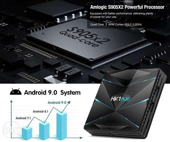HK1 PLAY 4G+32G Android tv box