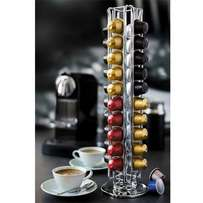Rotating Coffee Capsule Holder - Silver RETAILS: R139 our R50