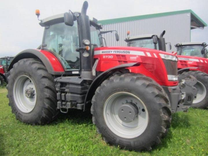 Massey Ferguson 8730 dvt exclusive - 2016