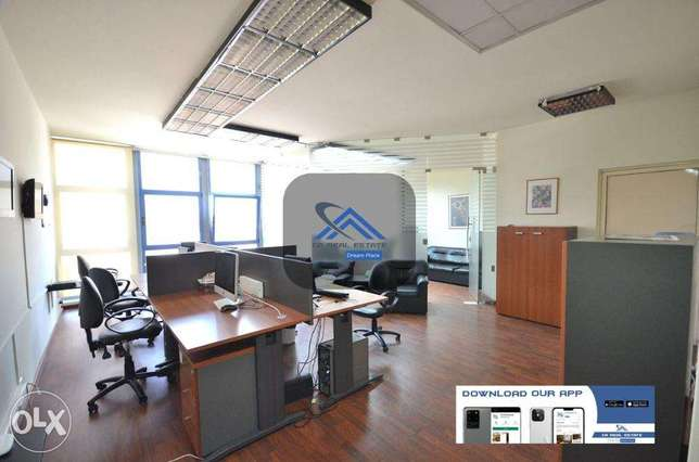 office with furniture for rent cash حازمية -  2