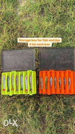 storage box for fish and jigs lure