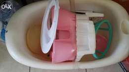 Baby tub and potty