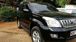 Toyota Prado Tx with Sunroof