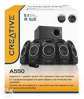 CREATIVE A550 - 5.1 PC Speakers with Subwoofer on offer - Black