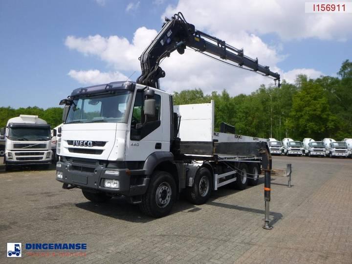 Iveco AT410T44 8x4+ Hiab 400 E-5 + Jib 90 X-3 - 2005