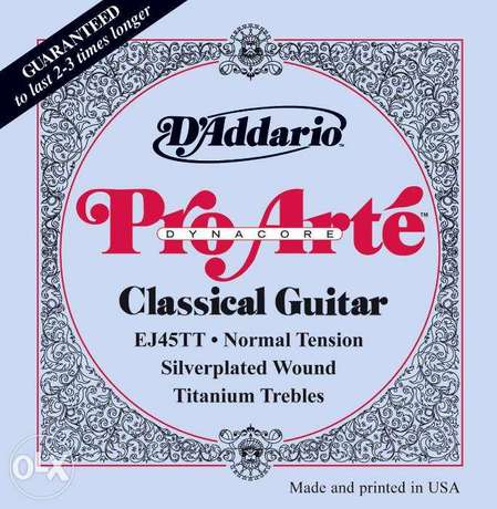 D'Addario Classical guitar strings
